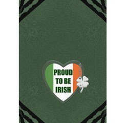 Pot Of Gold Irish 5x7 Greeting Card By Lil    Greeting Card 5  X 7    2i5it7qfme5k   Www Artscow Com Back Cover