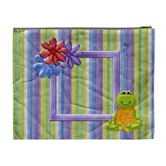 Lil  Froggie Xl Cosmetic Bag 1 By Lisa Minor   Cosmetic Bag (xl)   N0eiv1u8xfg2   Www Artscow Com Back
