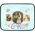 Candy Kisses Mini Fleece Blanket  - Fleece Blanket (Mini)