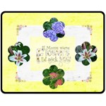 If Moms were FlowersMedium Fleece Blanket - Fleece Blanket (Medium)