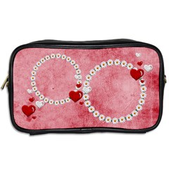 Daisy Heart   Toiletries Bag Two Sides By Elena Petrova   Toiletries Bag (two Sides)   Sie8o7nel1er   Www Artscow Com Back