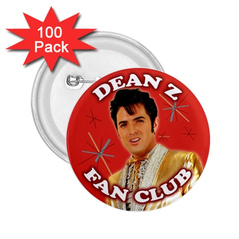 Dean Z Fan Club Button By Carol Schwenk   2 25  Button (100 Pack)   B9v4csixvu1s   Www Artscow Com Front