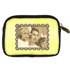 Love You Mom Camera Case By Catvinnat   Digital Camera Leather Case   5563fja7uo16   Www Artscow Com Back