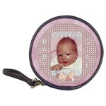 Baby Girl CD/DVD Case - Classic 20-CD Wallet