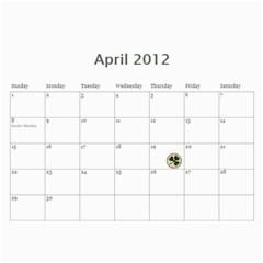 Calander 2011 By Amanda   Wall Calendar 11  X 8 5  (18 Months)   Xb2nnfcmvrqp   Www Artscow Com Apr 2012