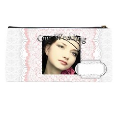 Our Wedding By Joely   Pencil Case   P3cogmvt7wco   Www Artscow Com Back