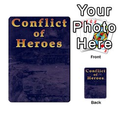 Conflict Of Heroes: Despertando Al Oso By Doom18   Playing Cards 54 Designs   Zu2ezi1mrsdr   Www Artscow Com Back