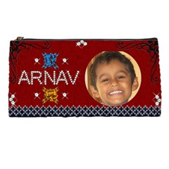 Arnie Pencil Case By Prasad   Pencil Case   Z1q4fa5kka3x   Www Artscow Com Front