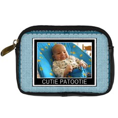 Cutie Patootie Leather Digital Camera Case By Lil    Digital Camera Leather Case   Dvfbkogkpj7c   Www Artscow Com Front
