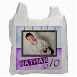 Nathan @ 10 recycle bag double sided - Recycle Bag (Two Side)