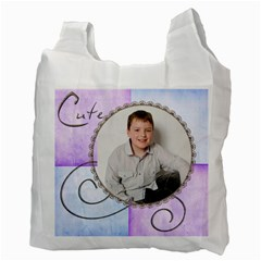 Nathan   10 Recycle Bag Double Sided By Catvinnat   Recycle Bag (two Side)   I8dblmnchmol   Www Artscow Com Back