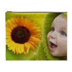 Sunflower baby cosmetic bag XL - Cosmetic Bag (XL)