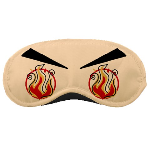Angry Mask By J  Chan   Sleeping Mask   6lh1y845iq9o   Www Artscow Com Front