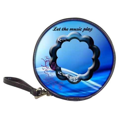 Let The Music Play   Cd Wallet By Elena Petrova   Classic 20 Cd Wallet   Gn9940tao41d   Www Artscow Com Front