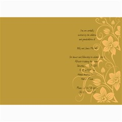 Wedding Invitations By Summer Beck Havens   5  X 7  Photo Cards   Setbw2g74jug   Www Artscow Com 7 x5 Photo Card - 3