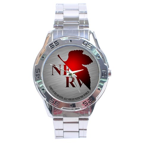 Nerv By Jiu3a   Stainless Steel Analogue Watch   Khe2thf9jg9s   Www Artscow Com Front