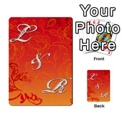 Toya & Roberts Wedding By Jr   Multi Purpose Cards (rectangle)   Jjalc1xz8as4   Www Artscow Com Front 2