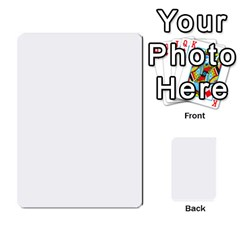 Toya & Roberts Wedding By Jr   Multi Purpose Cards (rectangle)   Jjalc1xz8as4   Www Artscow Com Back 39