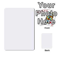 Toya & Roberts Wedding By Jr   Multi Purpose Cards (rectangle)   Jjalc1xz8as4   Www Artscow Com Back 43