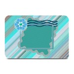 Blue flower place mat - Plate Mat