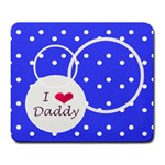 Love Daddy mousepad - Large Mousepad
