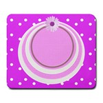 My Baby Girl mousepad - Large Mousepad