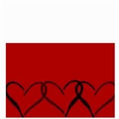 Black Hearts By Bags n Brellas   Bucket Bag   Jk19w8oqe80g   Www Artscow Com Front