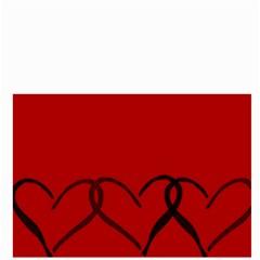 Black Hearts By Bags n Brellas   Bucket Bag   Jk19w8oqe80g   Www Artscow Com Back