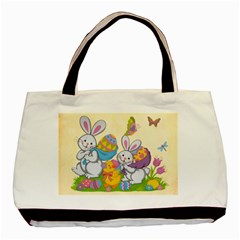 Happy Easter Double Sided Tote By Catvinnat   Basic Tote Bag (two Sides)   Uc2niqfkiihy   Www Artscow Com Back