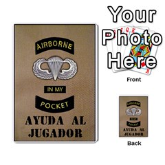 Airborne Imp (juego Base + Rules)  By Doom18   Multi Purpose Cards (rectangle)   Vhteoerqjkx4   Www Artscow Com Back 8
