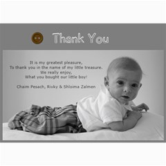 Thank You Card By Ruchy   5  X 7  Photo Cards   Vsi9lwhskf22   Www Artscow Com 7 x5 Photo Card - 2