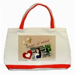 angel of mine - Classic Tote Bag (Red)