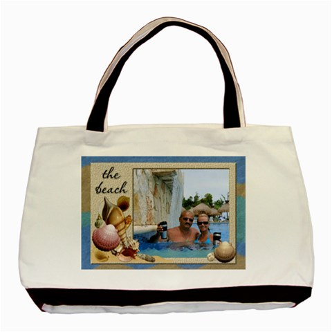 The Beach Classic Tote Bag By Lil    Basic Tote Bag   Ax6yoxk67g7m   Www Artscow Com Front