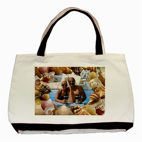 Shells Classic Tote Bag By Lil    Basic Tote Bag   0jrhxwvchg6k   Www Artscow Com Front