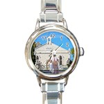 Moonta Mines Methodist Church Charm Watch - Round Italian Charm Watch