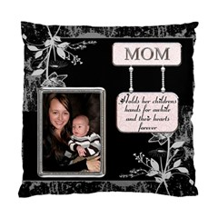 Mom 2 Sided Cushion Case By Lil    Standard Cushion Case (two Sides)   Drpu138vpvu7   Www Artscow Com Back