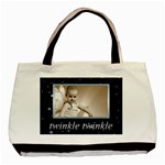 Twinkle Twinkle Little star double sided tote bag - Basic Tote Bag (Two Sides)