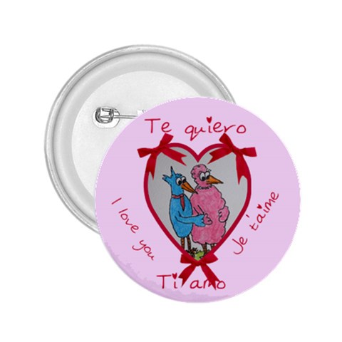 Ti Amo By Trine   2 25  Button   Dfoasisxfx4p   Www Artscow Com Front