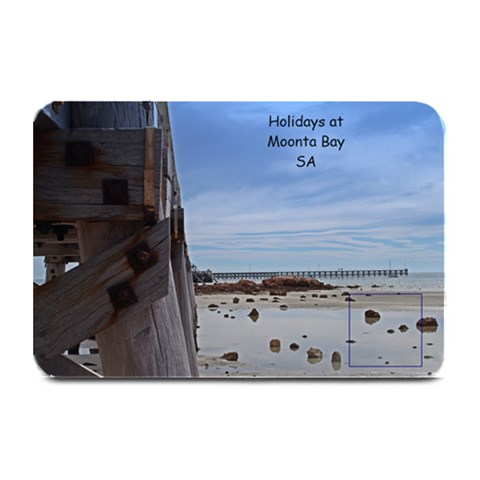 Holiday At Moonta Bay Place Mat By Chris   Plate Mat   Kvffpeib1983   Www Artscow Com 18 x12 Plate Mat - 1