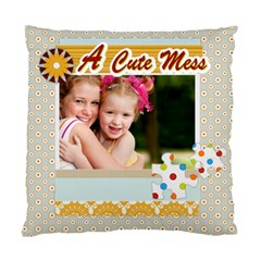 A Cute By Joely   Standard Cushion Case (two Sides)   Mzawfhd44k3r   Www Artscow Com Front