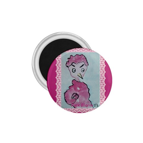 Pink Marm By Trine   1 75  Magnet   Vy8tnrxqa6nj   Www Artscow Com Front