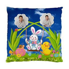 Easter Egg Hunt Double Sided Cushion By Catvinnat   Standard Cushion Case (two Sides)   Sydrovy6m1gu   Www Artscow Com Back