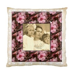 May Blossom Heritage 2 Sided Cushion Case By Catvinnat   Standard Cushion Case (two Sides)   Owkwdfpmokaz   Www Artscow Com Front