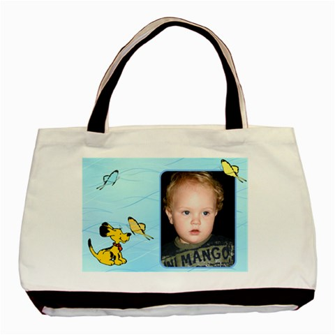 Butterfly Baby Tote Bag By Deborah   Basic Tote Bag   Hz73s1344rem   Www Artscow Com Front