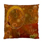 Love 24 Gold Hearts Custom Cushion Case  - Standard Cushion Case (One Side)