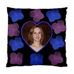 Hydranga Pink and Blue dreaming cushion cover - Standard Cushion Case (One Side)