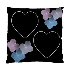 Love And Flowers 2 Sided Cushion Case By Deborah   Standard Cushion Case (two Sides)   Ent0i4ibed1w   Www Artscow Com Front