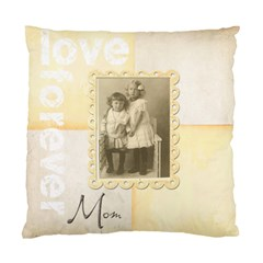 Love Forvber Mom Double Dided Cushion Cover By Catvinnat   Standard Cushion Case (two Sides)   D5812nhnqrch   Www Artscow Com Front