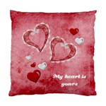 My heart is yours cushion case - Standard Cushion Case (Two Sides)