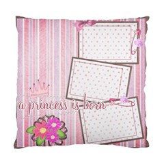 Cushion Case   2 Sides   My Baby s Firsts    By Angel   Standard Cushion Case (two Sides)   0088omg5hb08   Www Artscow Com Front
